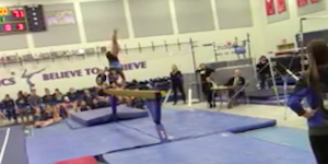 Gymnastics video image