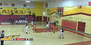 Basketball video image